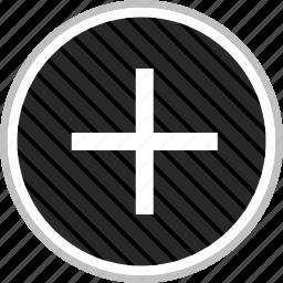 add, menu, navigation, plus icon