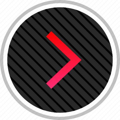 arrow, next, point, right icon