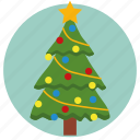 christmas, christmas tree, fir-tree, needles, spruce, tree, xmas icon