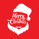 christmas, holiday, merry, noel, santa claus icon
