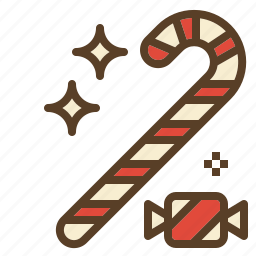 candy, cane, christmas, sweet, treats icon