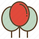 balloon, christmas, decoration, party, xmas icon