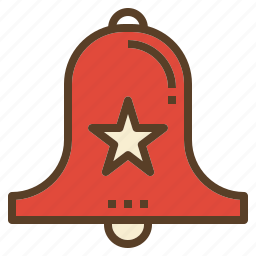 bell, christmas, decoration, xmas icon