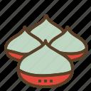 chestnut, christmas, roasted, xmas