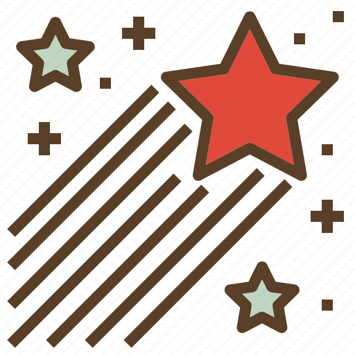 christmas, raising, star, xmas icon