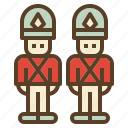christmas, soldier, toy, xmas icon