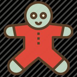 christmas, cookie, treats, xmas icon