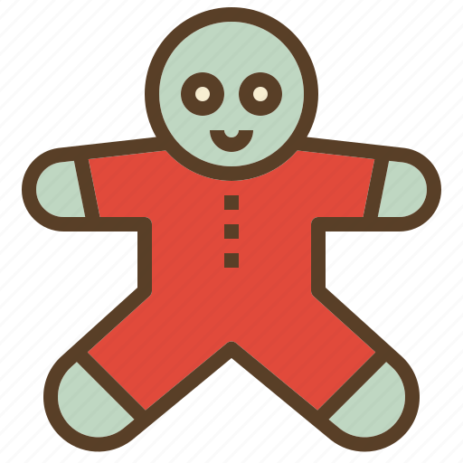 christmas, cookie, treats, xmas icon