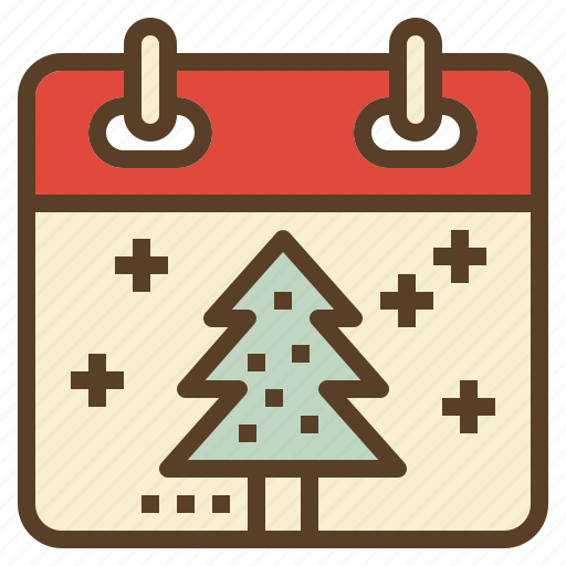 calendar, celebration, christmas, holiday, winter, xmas icon