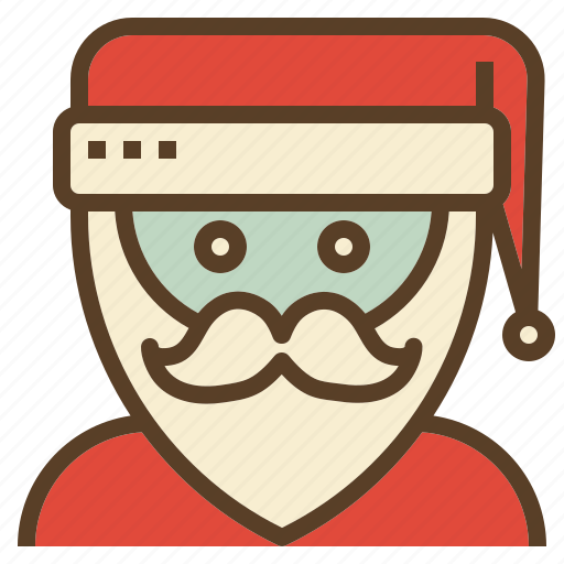 avatar, christmas, claus, santa, xmas icon