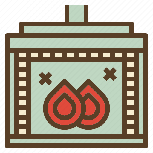 burning, fire, stove, warm, wood icon