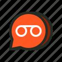 audio, chat, message, messenger, recording, voice, voicemail icon