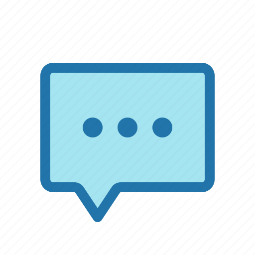 chat, comment, message, messenger icon