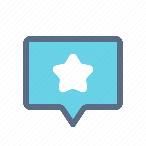 Comment, favorite, like, message, star icon - Download on Iconfinder