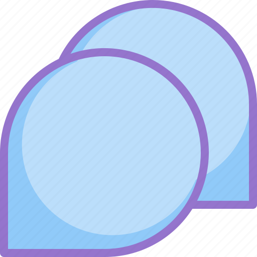 all, chat, group, message icon