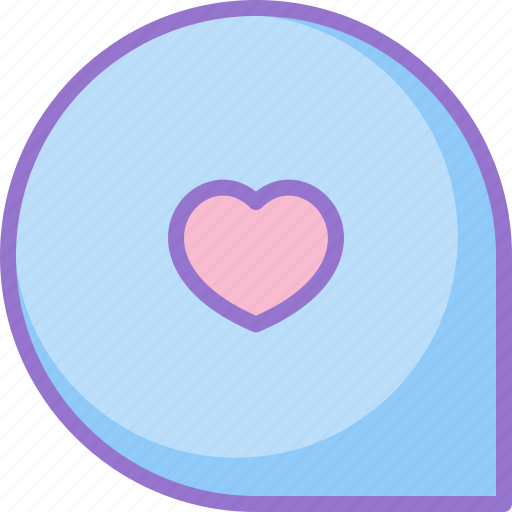 comment, favorite, loved, message icon