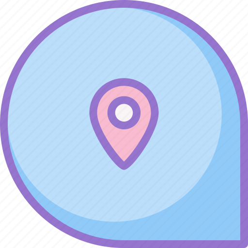 location, notification, pin, placeholder icon