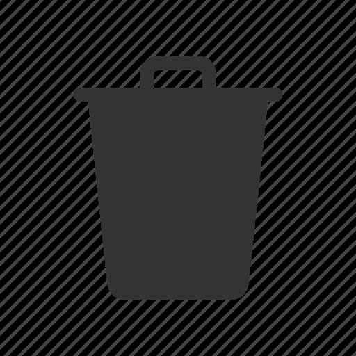 delete, recycle bin, remove, trash icon