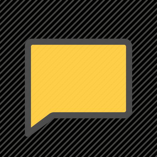 bubble, comment, conversation, dialogue, message, sms, speech icon