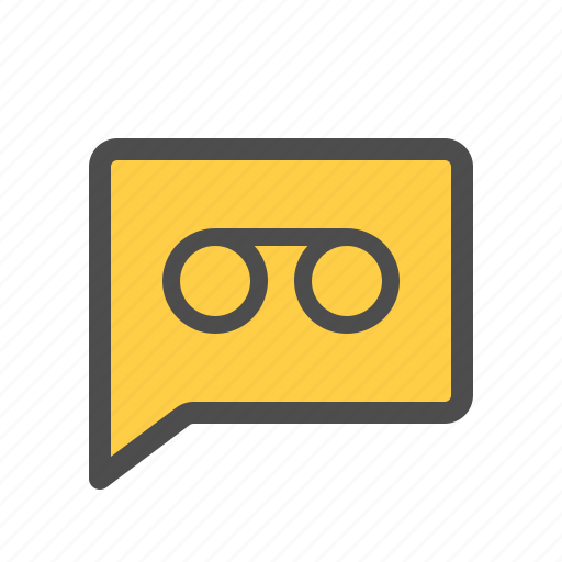 audio, chat, mail, message, recording, voice icon