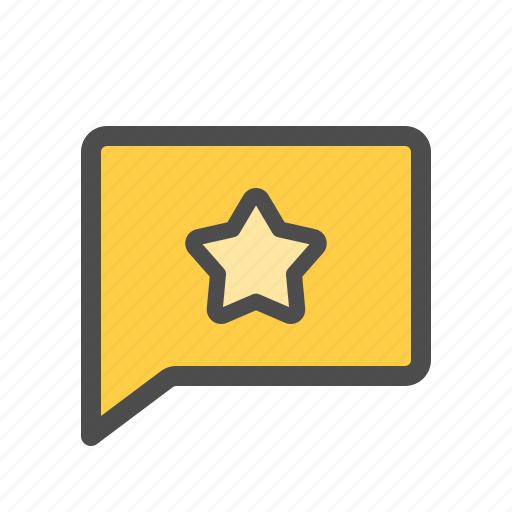 Chat, favorite, like, message, messenger, star icon - Download on Iconfinder