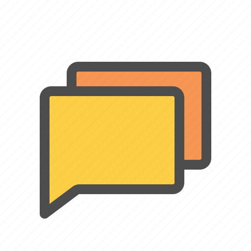 all, chat, conversation, forum, group, message, messenger icon