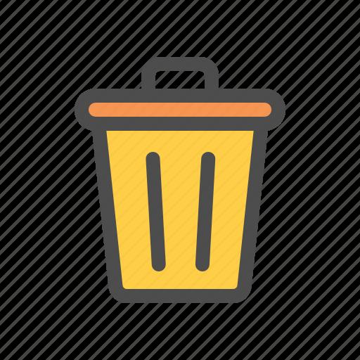 bin, clean, delete, recycle, remove, trash icon