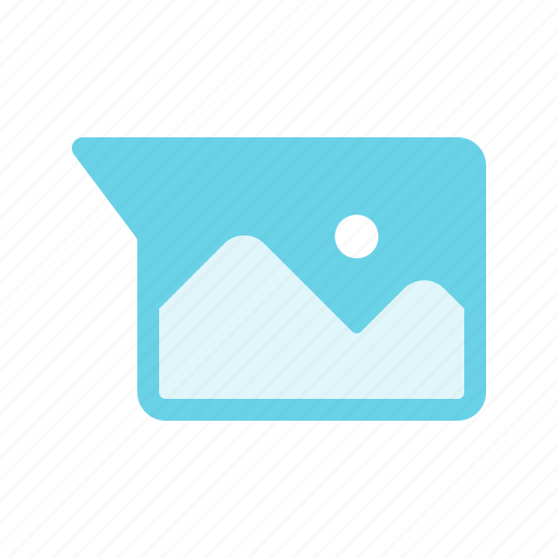 Chat, image, message, multimedia, photo, picture icon - Download on Iconfinder