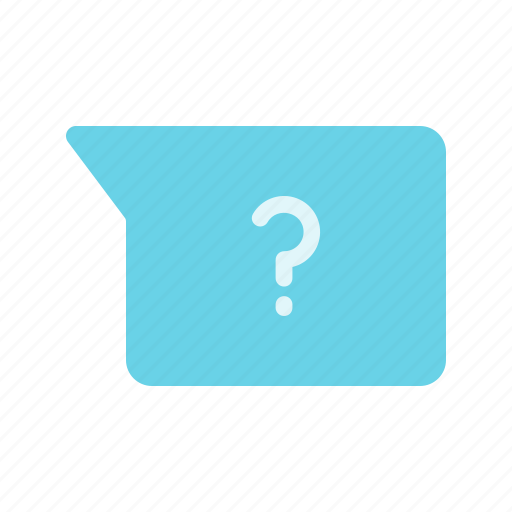 chat, faq, help, message, question icon