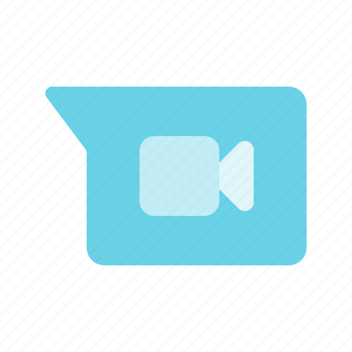 camera, chat, message, multimedia, video icon