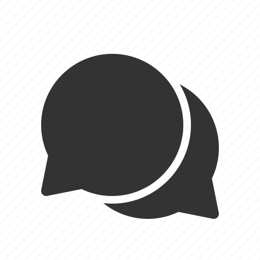 chat, conversation, group, message icon