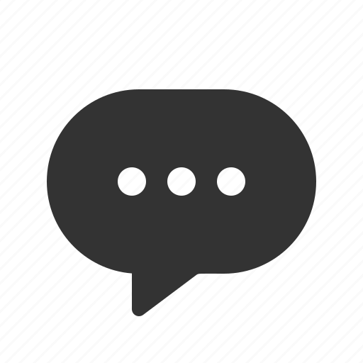 chat, message, messenger, text icon