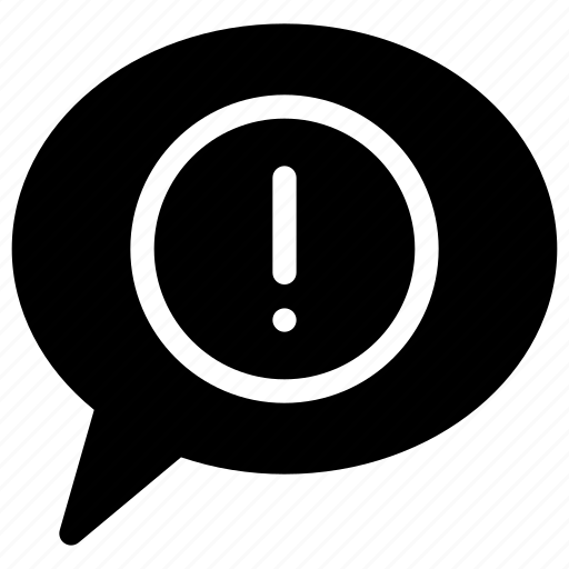 chat, communication, connection, error, message icon