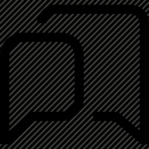 bubble, chat, dialogue, message, speech icon