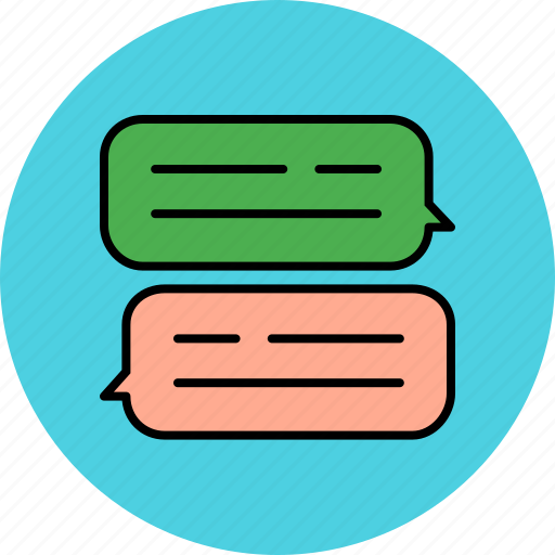 chat, chatting, communication, message, private, text icon