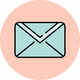 communication, email, envelope, message, unread icon
