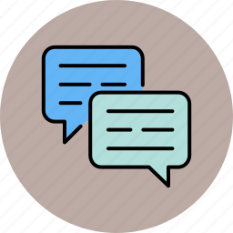 chat, communication, message, private, text icon