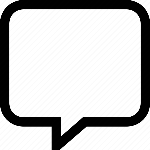 bubble, chat, dialogue, message, speech icon
