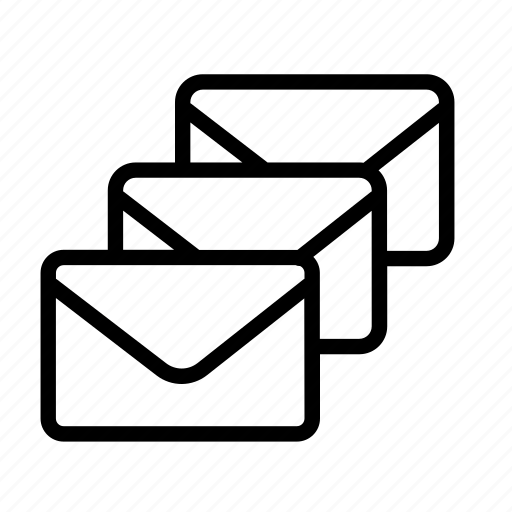 email, envelope, letters, mail, message icon