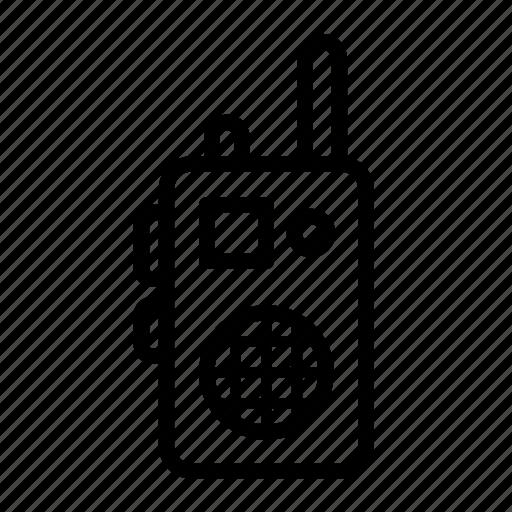 dialogue, discuss, radio, speech, talkie, walkie icon