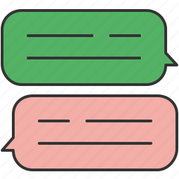 chat, communication, message, messaging, text icon