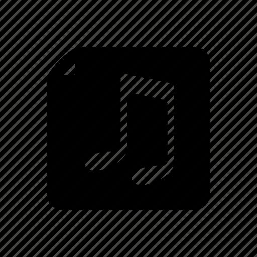 audio, audio file, file, messenger, music, music file, sound icon