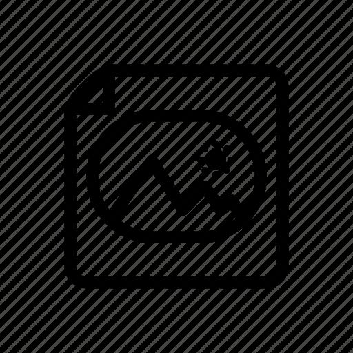 file, line, messenger, outline, picture, picture file icon