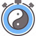 meditate, meditation, mental, relax, relief, stress, zen icon