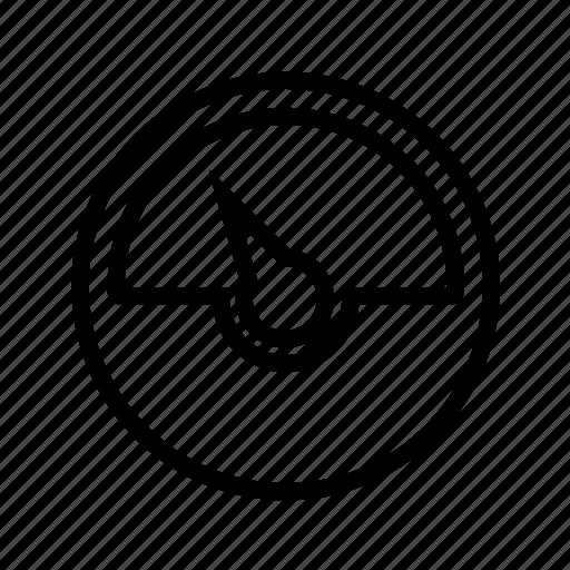 meter, speed icon