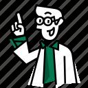 coat, emojidf, experiment, lab, laboratory, research, smart icon
