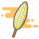 corn, elote, mexican snack, snack, street food icon