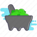 avocado, guacamole, mexican snack icon