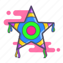 fiesta, mexican party, party, pinata icon