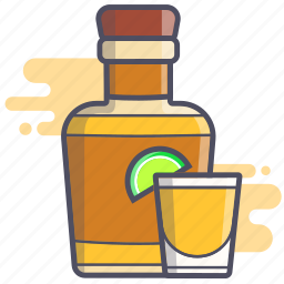 alcohol, booze, shot, tequila icon